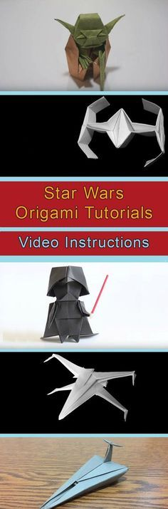 star wars paper airplane instructions
