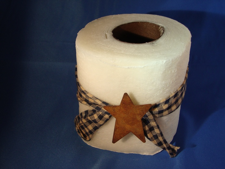 wax dipped toilet paper instructions