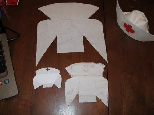 paper nurse hat instructions