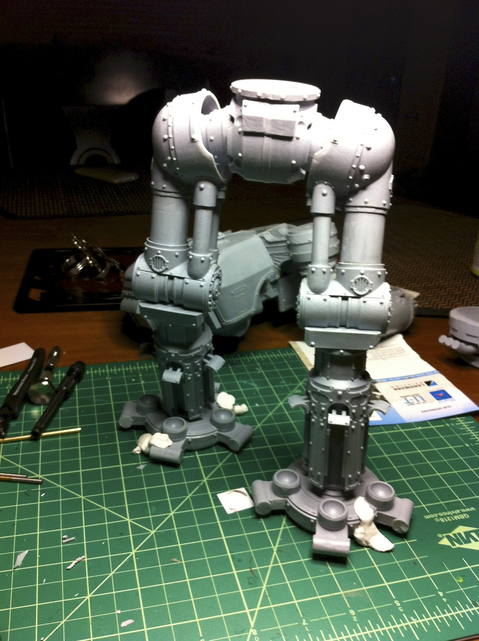 forge world assembly instructions