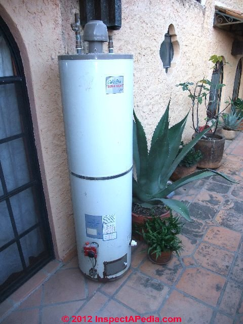 gas hot water heater installation instructions