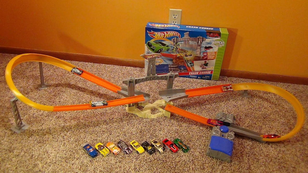 hot wheels loop track assembly instructions