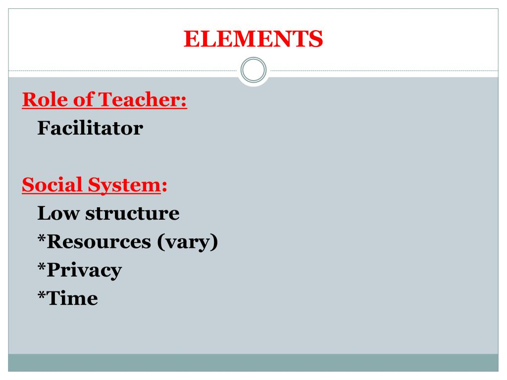 instructional models of teaching