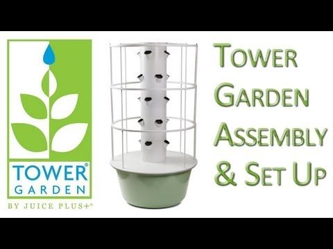tower garden assembly instructions