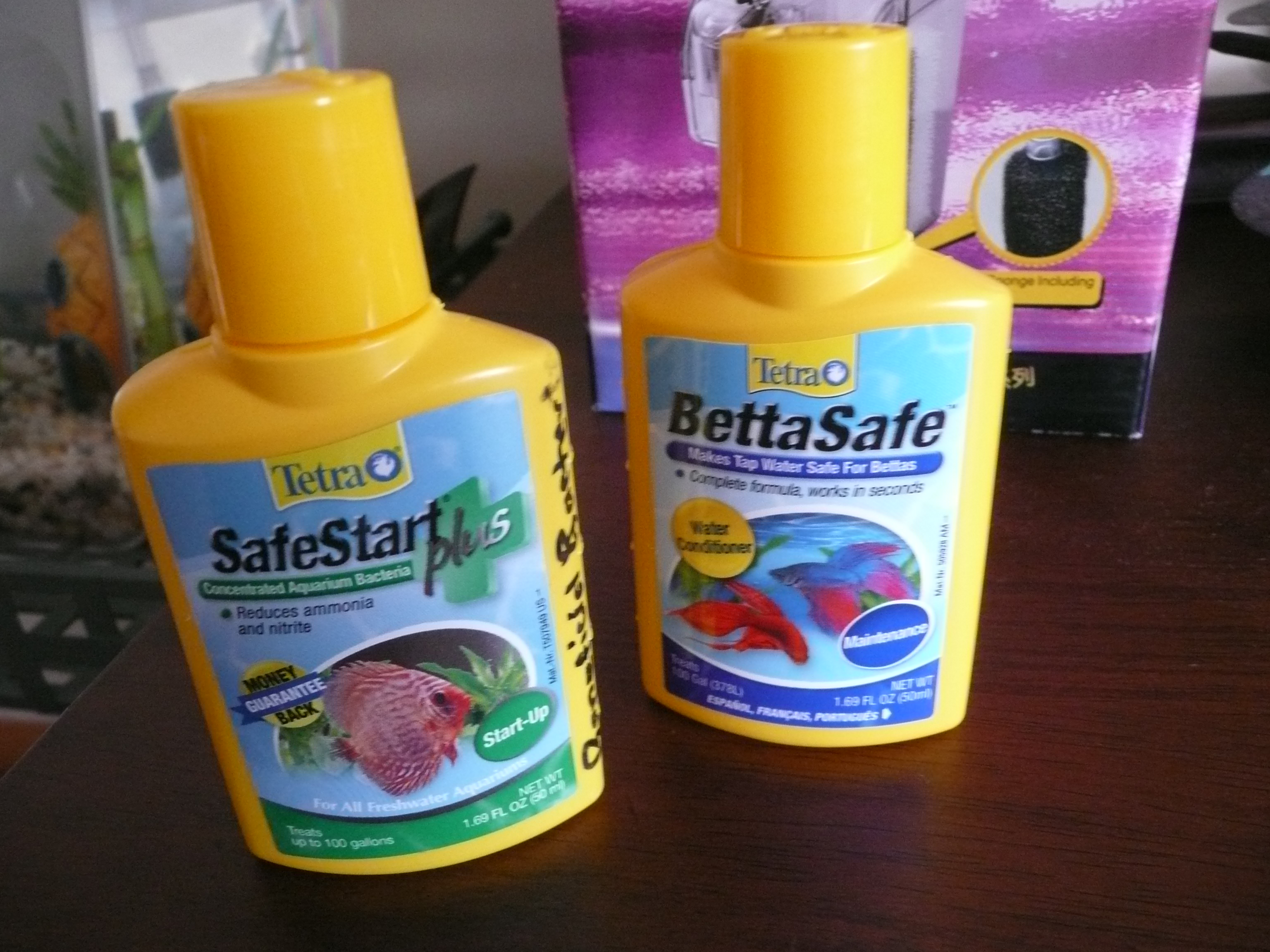 bettasafe water conditioner instructions