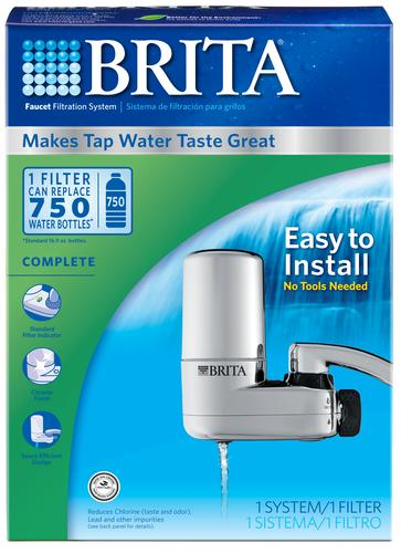 brita water faucet filter instructions