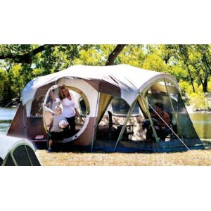 coleman screened 10 person weathermaster tent instructions
