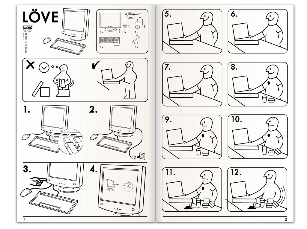 ikea world map instructions