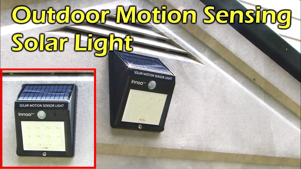motion detector light instructions