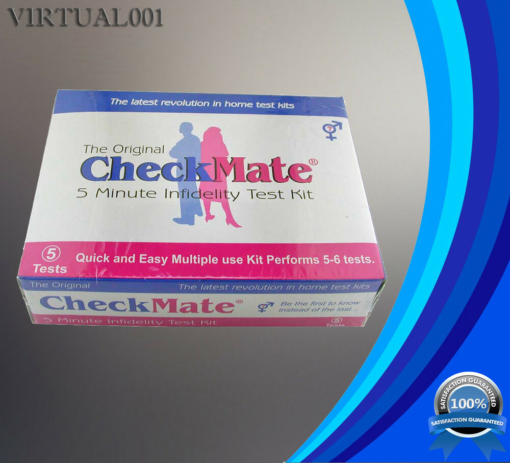 checkmate infidelity test kit instructions