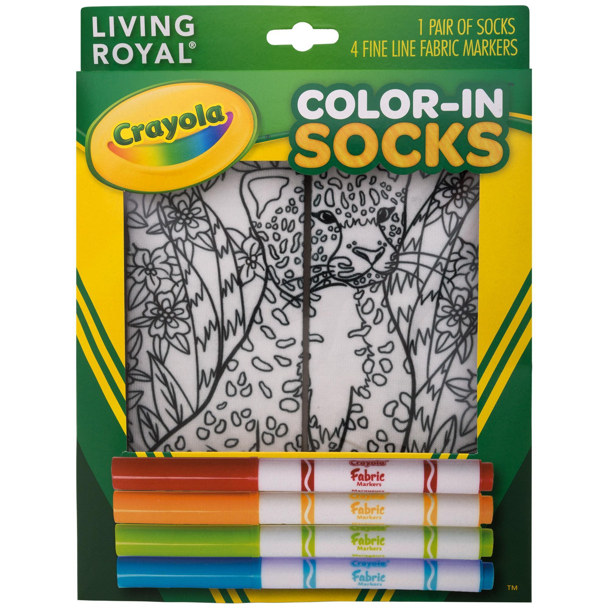 crayola fabric markers instructions