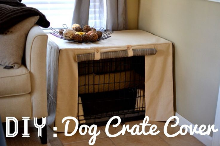 dog crate cover instructions