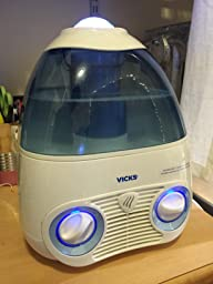 vicks starry night cool mist humidifier cleaning instructions