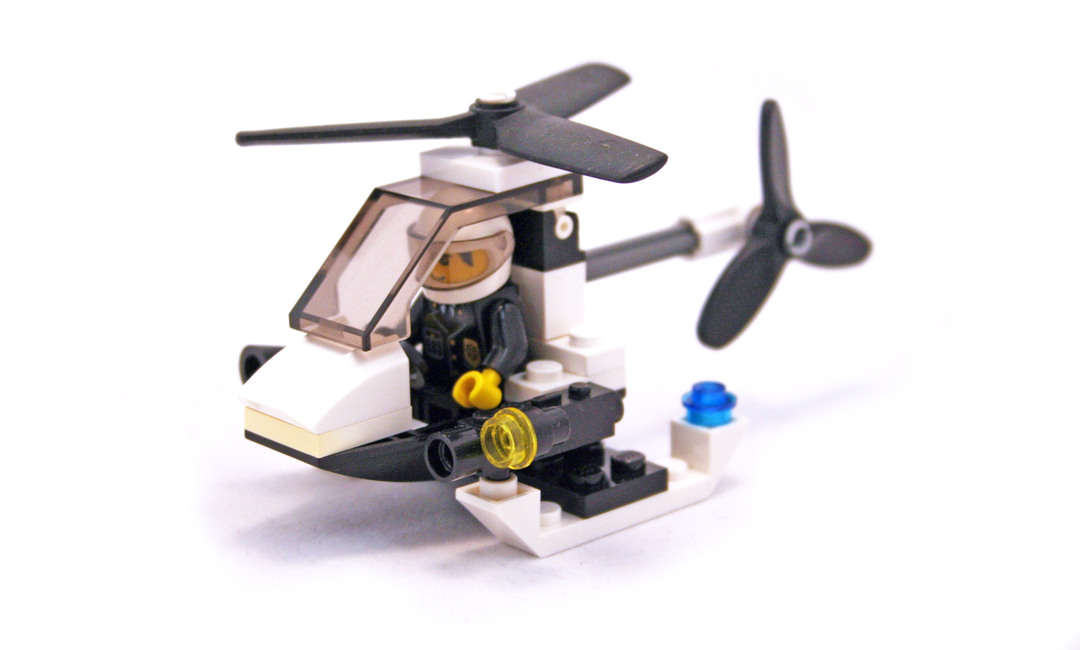lego police helicopter 7741 instructions