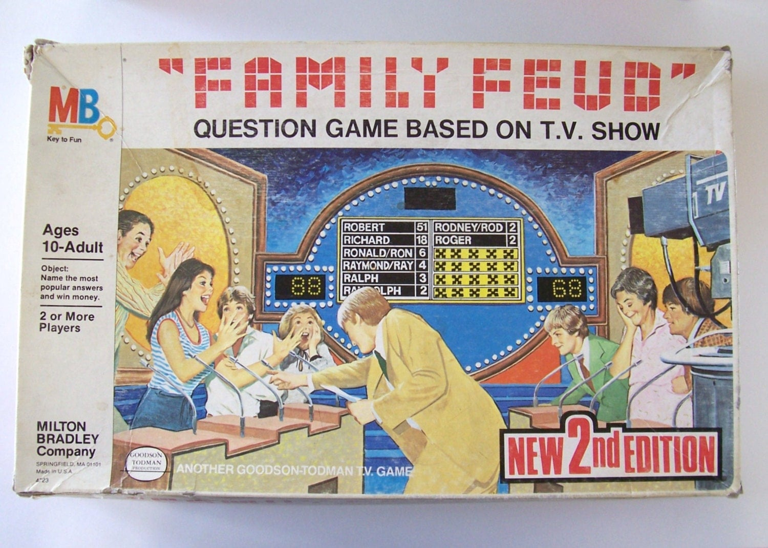 family feud board game instructions