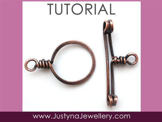 beaded toggle clasp instructions