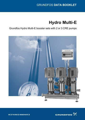 grundfos hydro mpc installation and operating instructions