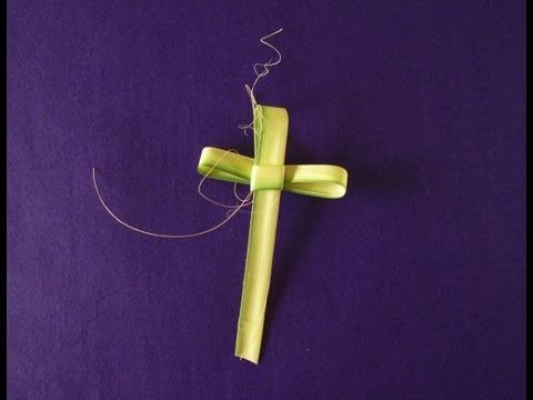 instructions for making palm crosses