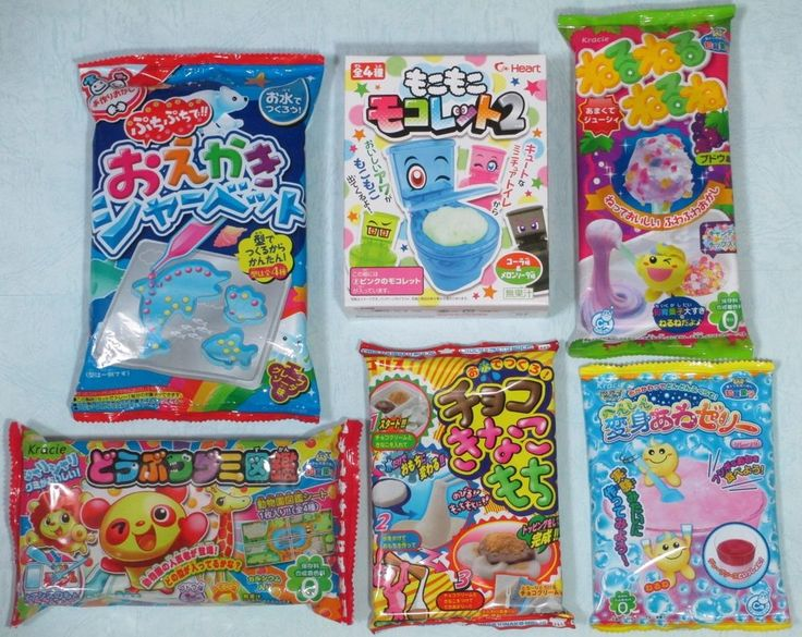 japanese toilet candy instructions