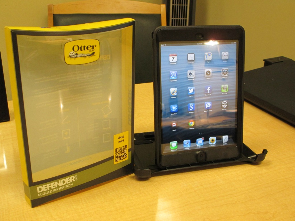 otterbox defender ipad mini instructions